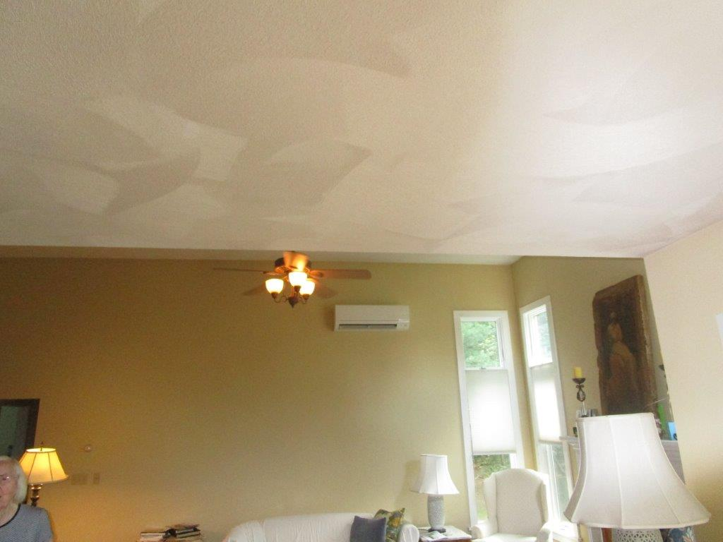 Ductless HVAC installation in a great room in Beverly, MA