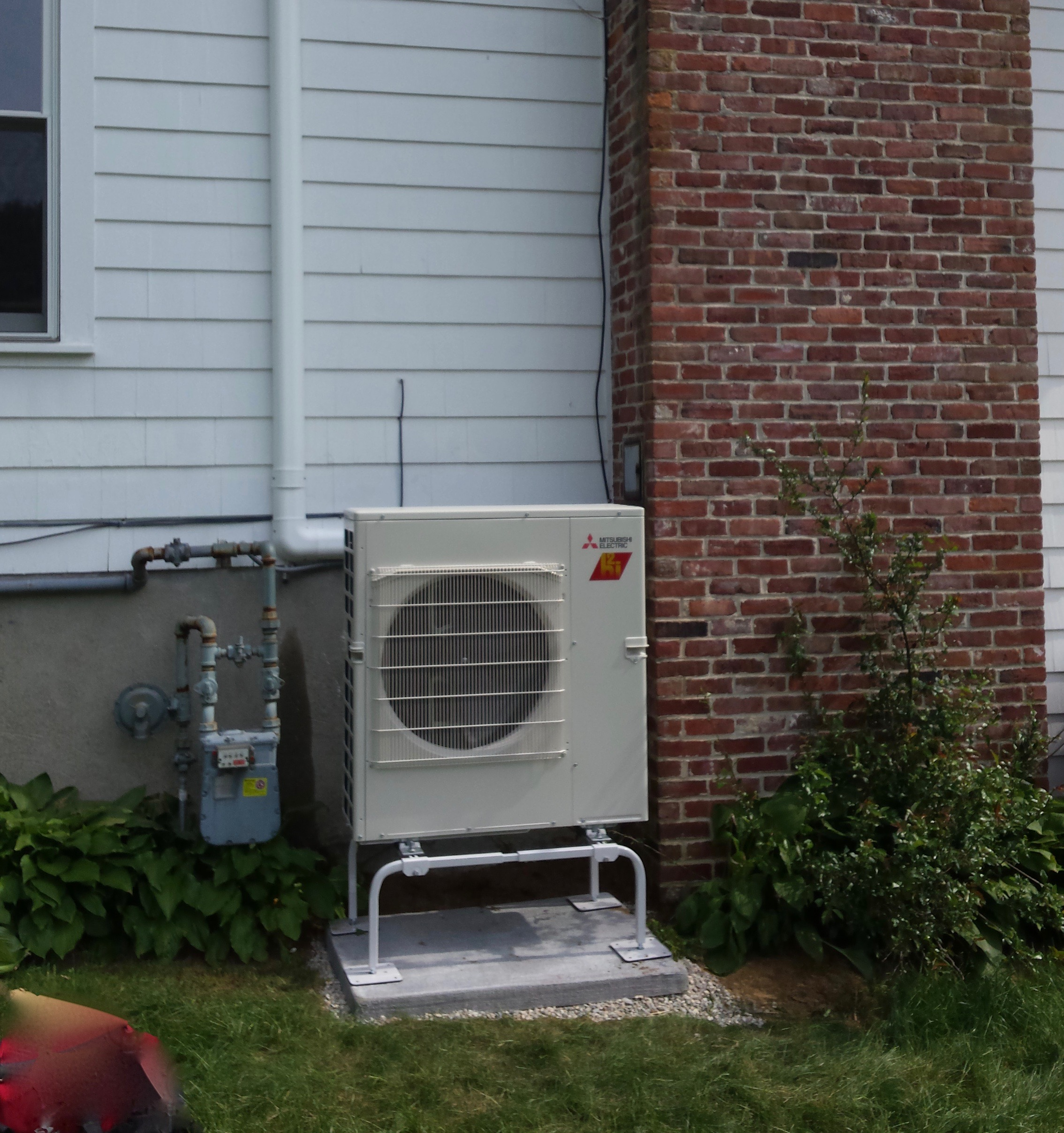 Mitsubishi Hyper Heat ductless heating and cooling system