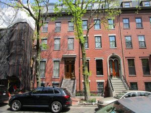 Mitsubishi Ductless Air Conditioning System for Boston Brownstone