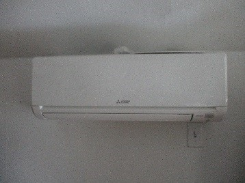 Indoor ductless wall AC