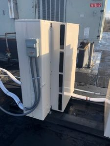 Server Room Upgrades to Mitsubishi Ductless Air Conditioning