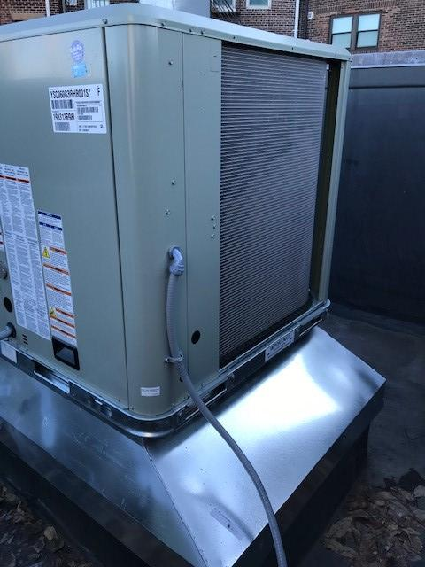 N.E.T.R., Inc. replace a broken heating unit for Boston funeral home in time for winter's cold.