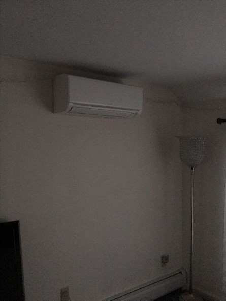 Split level home gets ductless AC units for year-round comfort.