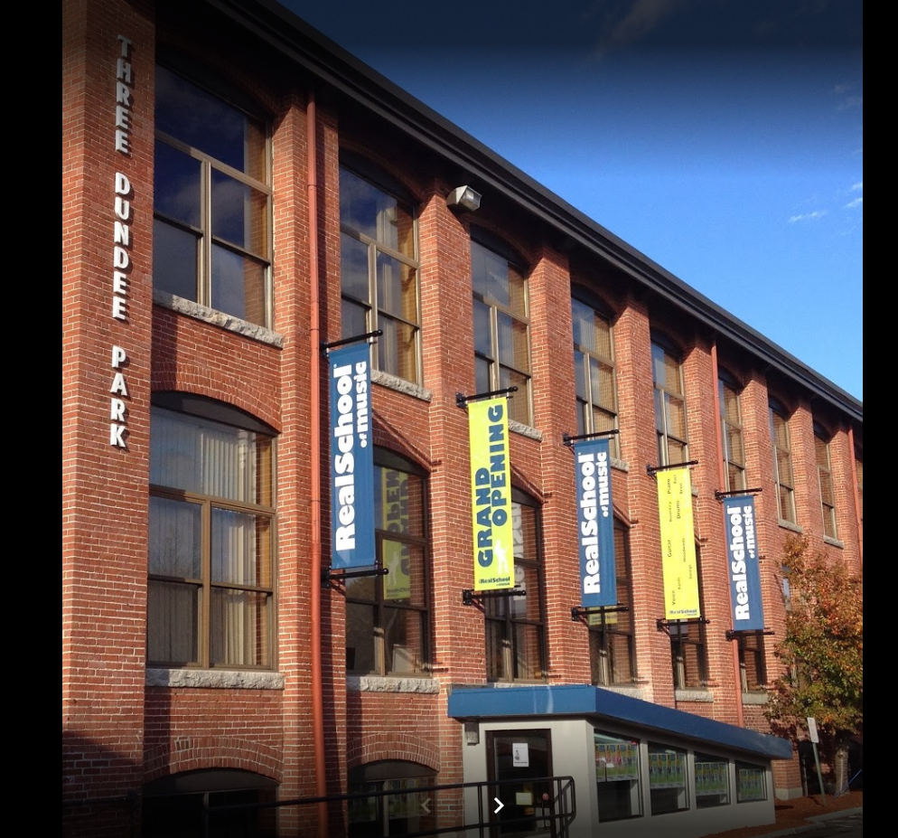The Real School of Music in Andover, MA, get Mitsubishi ductless AC system.