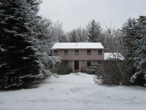 Five Zone Ductless Heating and Cooling Helps Save Energy for this North Andover, MA Colonial
