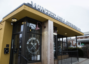 Winter Hill Brewery Installs Walk-in Cooler