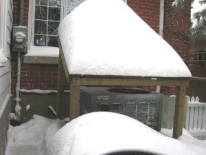 Protect Your Outdoor Heat Pump from Heavy New England Snow Storms