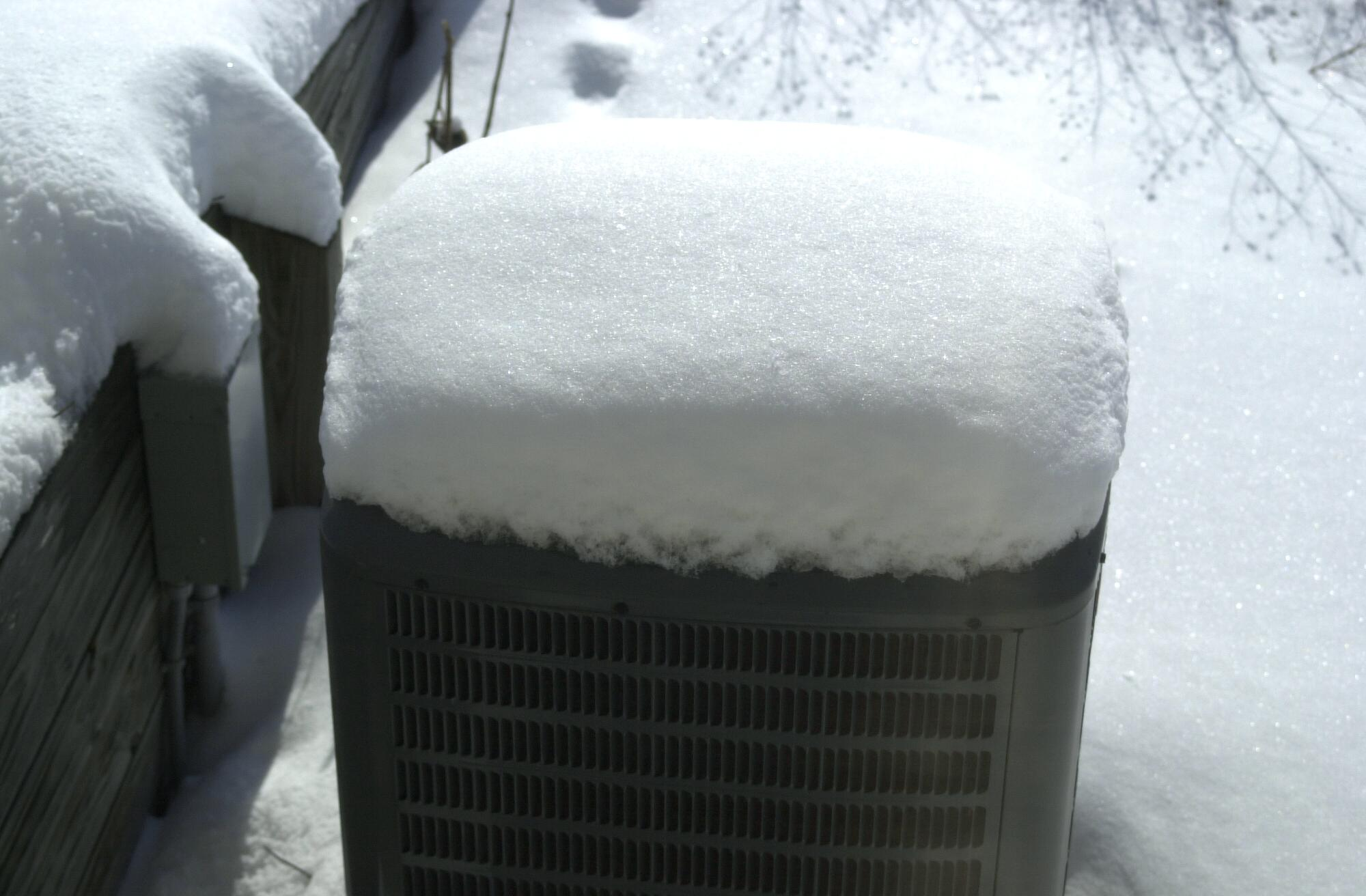 Protect Heat Pump From Boston Snow