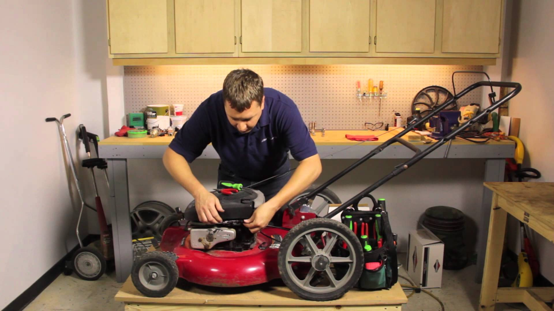 boston lawn mower maintenance