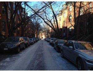 How NETR installed heating and air conditioning in a South End Brownstone.