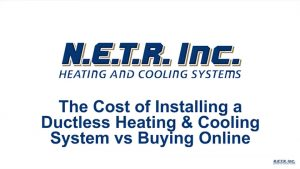The Cost of Installing a Ductless Heating & Cooling System vs Buying Online (Video)