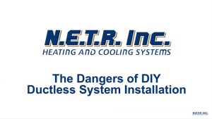 Dangers of DIY Ductless System Installation (Video)