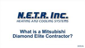 What is a Mitsubishi Diamond Elite Contractor? (Video)
