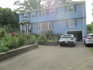 Lexington, MA, Colonial home upgrades to an American Standard AC with N.E.T.R. Inc.,.