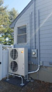 Ranch Home Replaces AC with Mitsubishi Electric AC